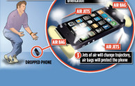 Airbags to protect your Smart Phones when dropped
