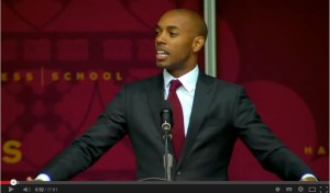 Extraordinary commencement address by Harvard Business School Graduate